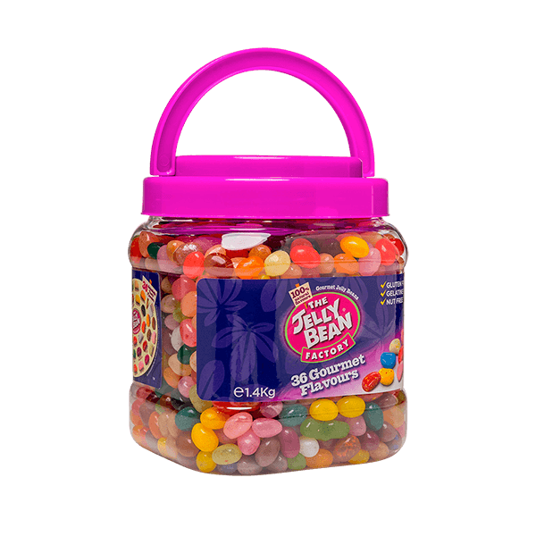 The Jelly Bean Factory Gourmet  Flavours Jar 1,4 kg