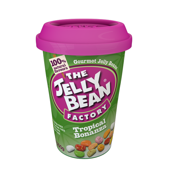 The Jelly Bean Factory Tropical Bonanza Cup 200g