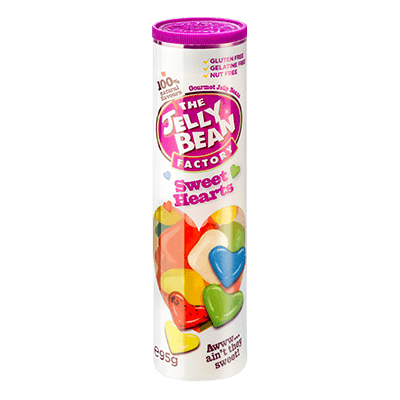 The Jelly Bean Factory Sweet Hearts Rolle 95g