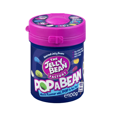 The Jelly Bean Factory Pop a Bean 100 g