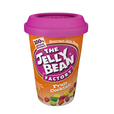 The Jelly Bean Factory Fruit Cocktail Cup 200g